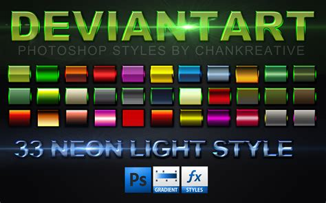 Images Adobe Styles by 33 Neon Border Photoshop Style By Chankreative On Deviantart