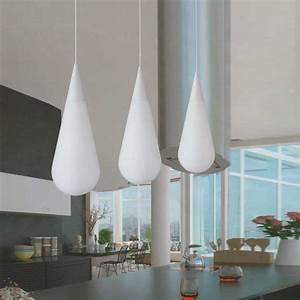Weiße Farbe Angebot : pendelleuchte pendellampe tropfenform lampen leuchten wei beleuchtung modern ebay ~ Eleganceandgraceweddings.com Haus und Dekorationen