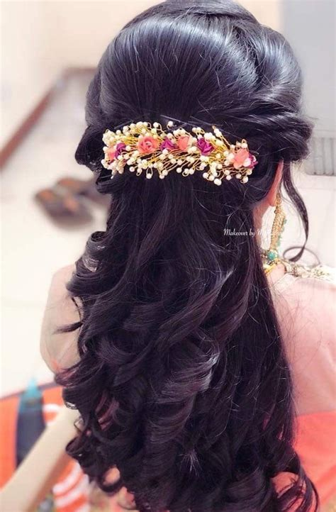 pin  vidya jagadish  hair styles hair styles bridal hair buns long hair styles
