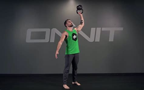 press kettlebell exercise bottoms bottom
