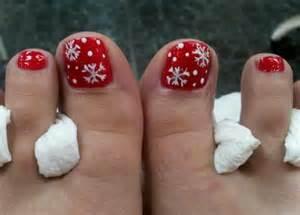 Toe nail art christmas nails for toenails design