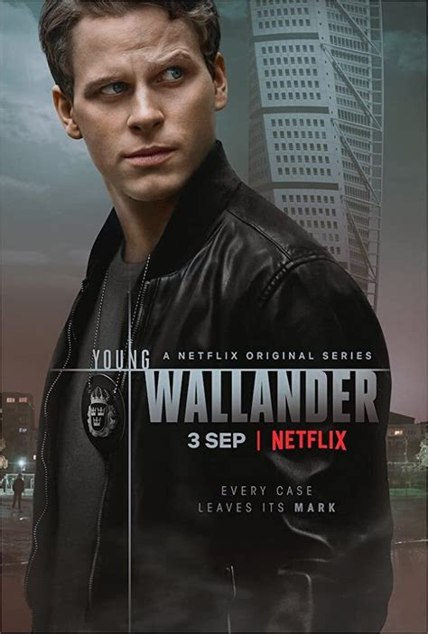 young wallander netflix wallender starring palsson kurt cop leanne rookie mystery crime adam series