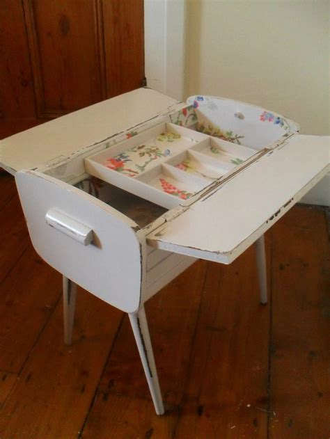 shabby chic sewing box wooden sewing box sewing and knitting pinterest sewing box shabby chic and shabby
