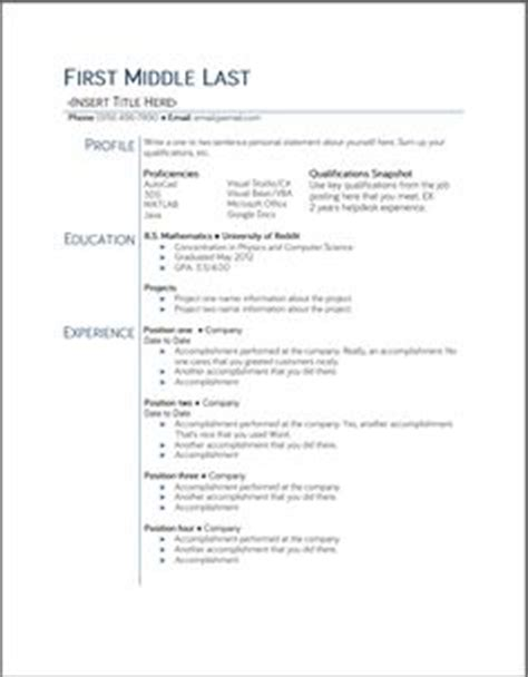 Pursuing Pmp Certification Resume by 1000 Ideas About Student Resume Template On