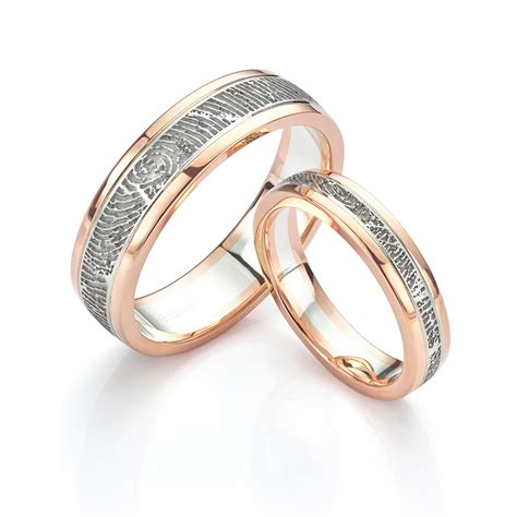 Fingerprint Wedding Rings  Unique Wedding Rings In 5 Easy. Paparazzi Rings. Rich Man Engagement Rings. Wave Wedding Rings. Dragon Welsh Wedding Rings