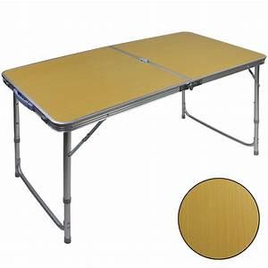 Tisch 40 X 60 : campingtisch alu koffertisch klapptisch camping tisch campvari 120 x 60 x 70 cm ebay ~ Bigdaddyawards.com Haus und Dekorationen