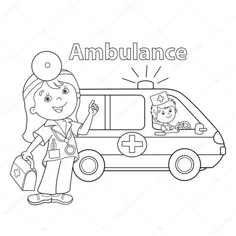 Kleurplaat Ziekenauto by Kleurplaat Ziekenauto Ambulance N De 28