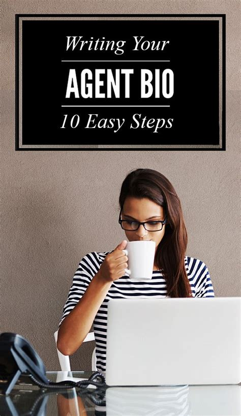 steps  writing  real estate agent biography