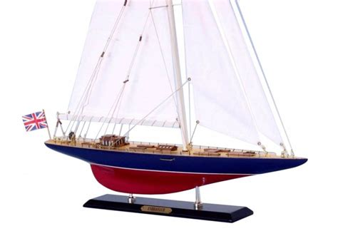 americas cup endeavour sailboat model scaled boat
