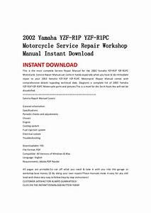 2002 Yamaha Yzf R1 P Yzf
