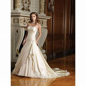 gold and ivory wedding dress ihpl dresses trend With gold and ivory wedding dress