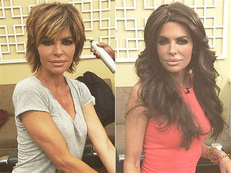 Lisa Rinna Gets Hair Extensions: See Her Bold Look