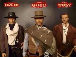 Good Bad Ugly Figures