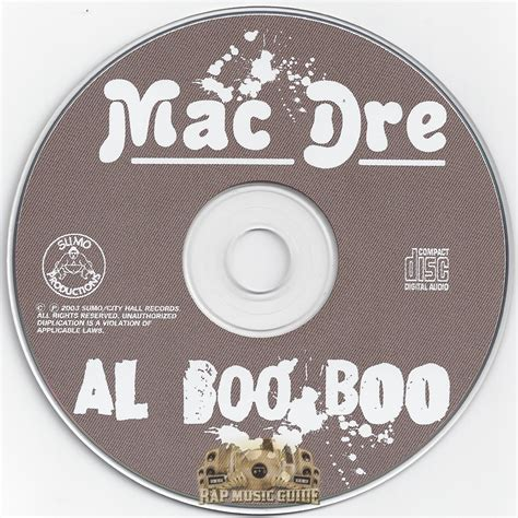 mac dre genie of the l zip mac dre al boo boo cd rap guide