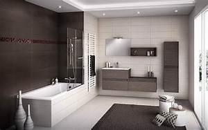 salles de bain douches meubles de salle de bain With salle bain moderne