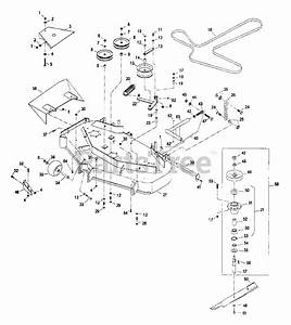 Exmark Parts On The 44 U0026quot  And 48 U0026quot  Deck Group Diagram For