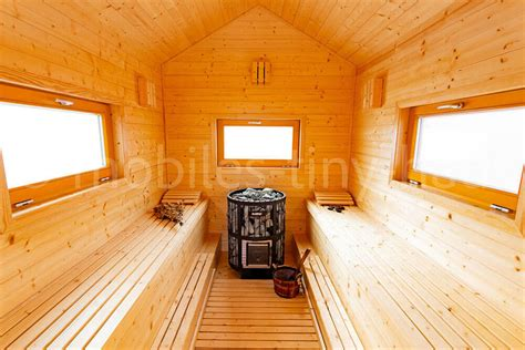 Tiny House Inneneinrichtung by Mobiles Tiny House Sauna Auf R 228 Dern Mobiles Tiny House