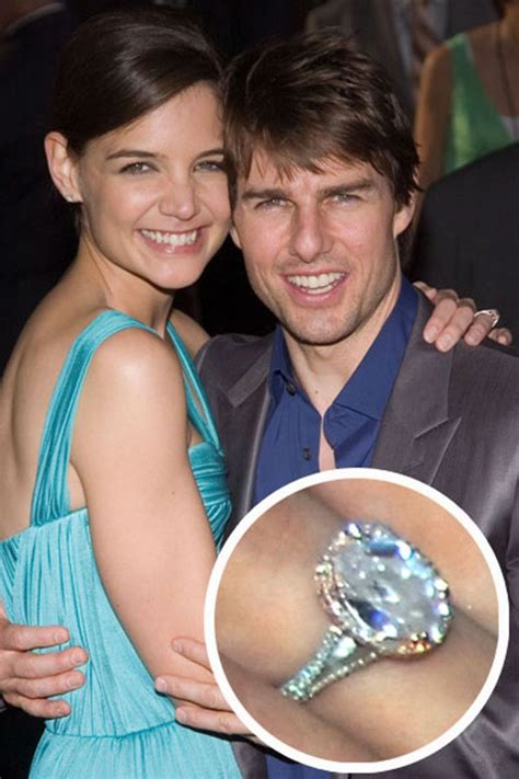 katie holmes s engagement ring celebrity engagement