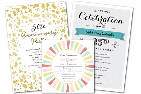 Couple Bridal Shower Invitations by Email Online Anniversary Invitations That Wow