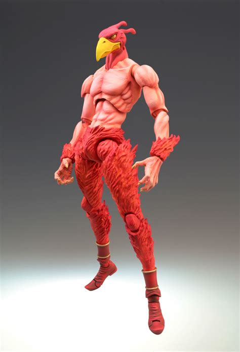 super action statue magicians red hirohiko araki color