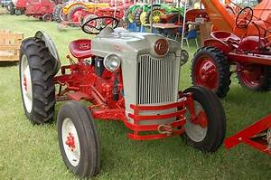 Restored Ford Naa  Jubilee  Tractor