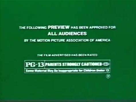 MPAA Logos Rated PG-13