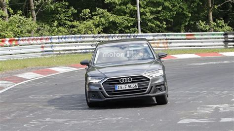 Audi Spotted Shaking Its Hips The Nurburgring