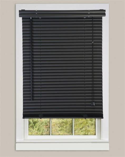 window blinds mini blinds  black vinyl blind ebay