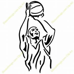 Team Basketball Shooter Clipart