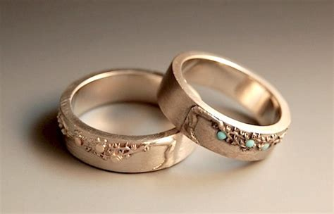 custom wedding engagement rings united with love