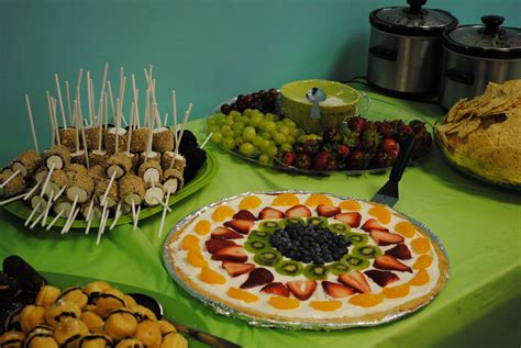 Finger Foods Baby Shower Image