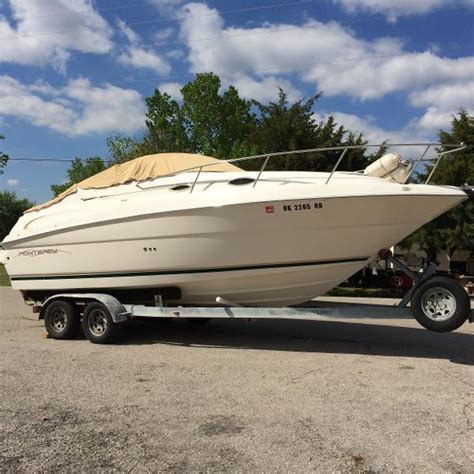 Boats For Sale Miami Ok by 2000 Monterey 242 Cruiser Mannford Oklahoma Boats