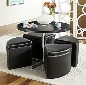 Table Avec Rangement : la table basse avec pouf pour un style de vie moderne ~ Teatrodelosmanantiales.com Idées de Décoration
