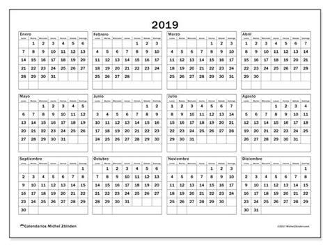 Calendario 2019 (34ld)