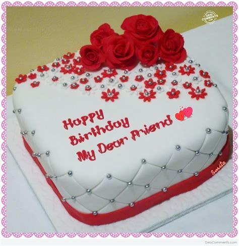 happy birthday  dear friend desicommentscom