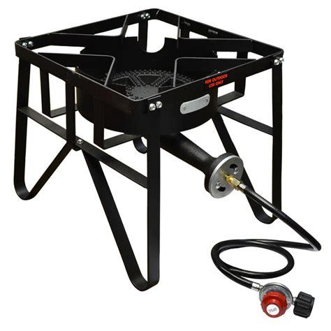 16'' SQUARE High Pressure Propane Gas Stove Single Burner