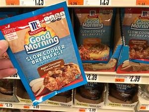 McCormick Good Morning Slow Cooker Breakfast Packets Only ...