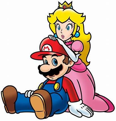 Mario Peach Super Deviantart 2d Artwork Luigi