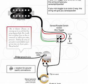 Series  Parallel  Split Wiring Diagram