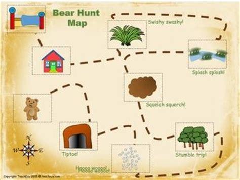 bear hunt  reading activity