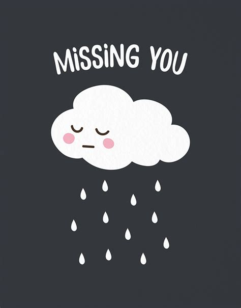 Free Miss You Picture by Cloud Missing You By Postable Postable