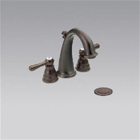 mini widespread faucet rubbed bronze dirtcheapfaucets moen t6123orb kingsley mini