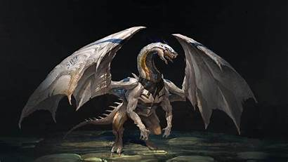 Dragon Wings Creature Wallpapers Backgrounds Fantasy Psd