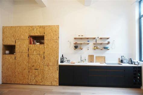 cuisine osb cuisine en panneaux fenix et osb moderne cuisine