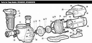 Hayward Super Pump Motor Replacement Parts