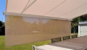 Store banne de terrasse dootdadoocom idees de for Carrelage adhesif salle de bain avec store banne avec led