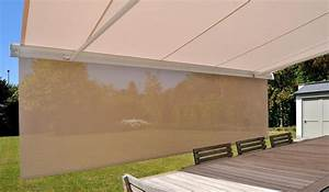 store banne de terrasse dootdadoocom idees de With carrelage adhesif salle de bain avec store banne led