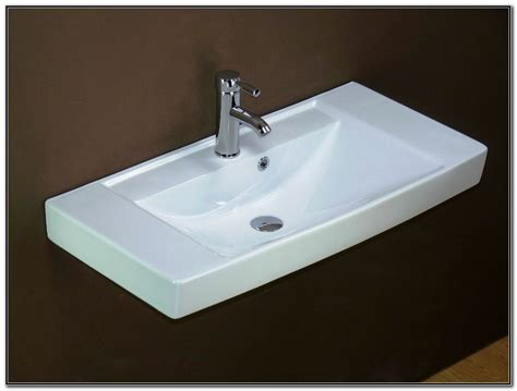 Small Rectangular Undermount Bathroom Sinks-sink And