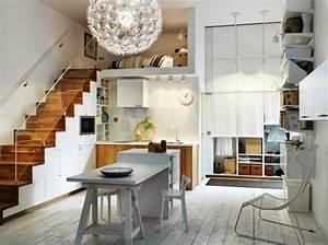amenagement sous escalier propositions originales With meuble cuisine petit espace 16 escalier maison bois moderne deco maison moderne