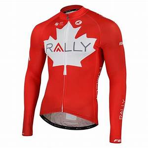 What To Wear Running In Cold Weather Chart Rally Cycling Canada National Champion Jersey For Men